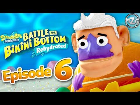 Mermalair! Prawn Boss Fight! - SpongeBob SquarePants Battle for Bikini Bottom Rehydrated Part 6