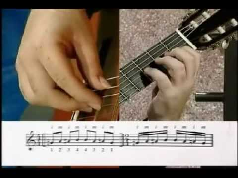Classical and Flamenco Guitar / Fingering Scales Lesson