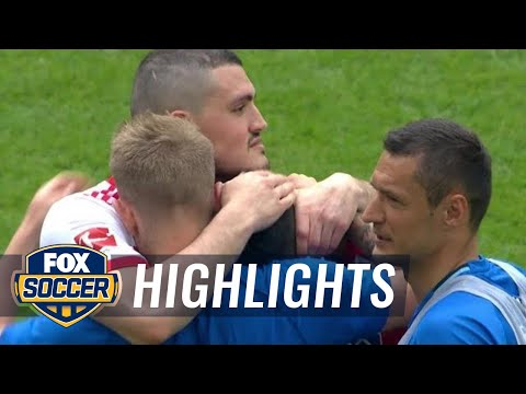Hamburg SV Vs. Monchengladbach | Bundesliga Highlights | FOX SOCCER