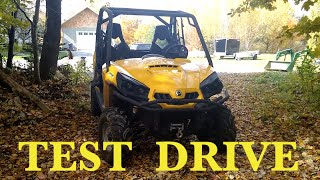 7. Can Am Commander 800R POV test drive