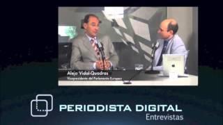 """Vidal-Quadras: """"No se ha hablado de una posible alianza, pero la afinidad entre Vox y Ciudadanos es notable"""""""