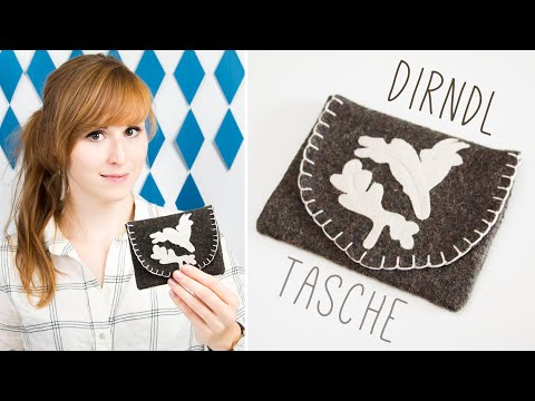 DIY Dirndl Tasche + Schnittmuster