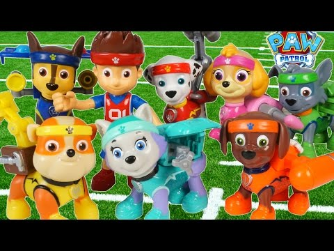 PAW PATROL ALL STAR SPORTS PUPS EVEREST RYDER CHASE SURPRISE MAGIC EGG