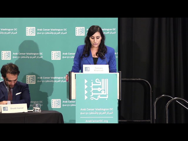The Arab World Beyond Conflict – Closing Remarks