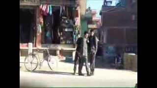 Nepali Street Prank - Freazing In Front Of People