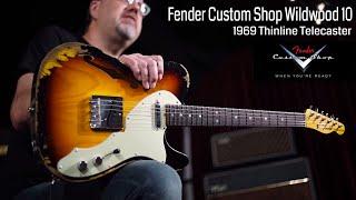 "Video Fender Custom Shop Dealer Select Wildwood ""10"" '69 Thinline Telecaster  •  Wildwood Guitars Overview MP3, 3GP, MP4, WEBM, AVI, FLV Juni 2018"