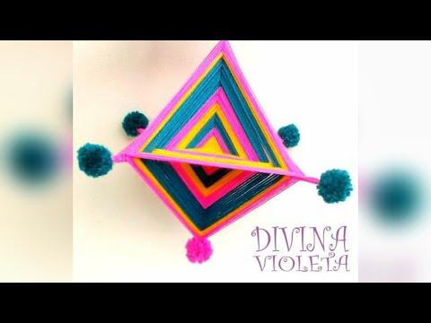 Mandala Tejido Tutorial 3D