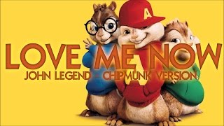 J. Legend - Love me now (Chipmunk Version)