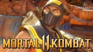 FIRST TIME PLAYING MK11 ONLINE WITH SCORPION! - Mortal Kombat 11 Online Beta: