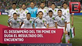 La Selección Mexicana enfrentara a su similar de Honduras en los cuartos de final de la Copa Oro. La selección hondureña tendría que ser un rival sencillo, sin embargo, el desempeño del Tri pone en duda el resultado del partido.19 julio de 2017 COMENTA ESTE VIDEO Y COMPARTELO CON TUS AMIGOSPara más información entra: http://www.youtube.com/excelsiortvNo olvides dejarnos tus comentarios y visitarnos enFacebook: https://www.facebook.com/ExcelsiorMexTwitter: https://twitter.com/Excelsior_MexSitio: http://www.excelsior.com.mx/tvSuscríbete a nuestro canal: https://www.youtube.com/channel/UClqo4ZAAZ01HQdCTlovCgkA