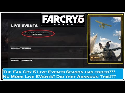 FAR CRY 5- The End of Live Events?