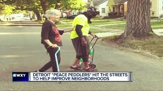 Detroit Peace Peddlers hit the streets to help improve neighborhoods