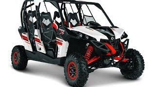 7. 2014 Can-Am Maverick Max 1000R X rs DPS Side By Side UTV Walk-Around