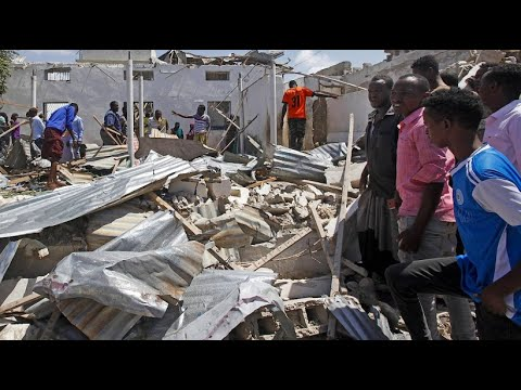 Somalia: Mehrere Tote nach Selbstmordattentat vor einem Verwaltungsgebäude