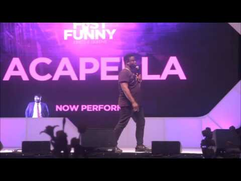 ACAPELLA'S PERFORMANCE AT SEYI LAW FAST AND FUNNY 2