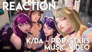 Video REACTION: K/DA - POP/STARS League of Legends Music Video | TradeChat MP3, 3GP, MP4, WEBM, AVI, FLV Januari 2019