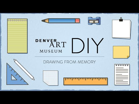 Still image from DAM DIY: Drawing From Memory