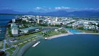 Cairns Australia  city photos gallery : Cairns Tour - Esplanade Lagoon & Harbor & Pier Nightlife