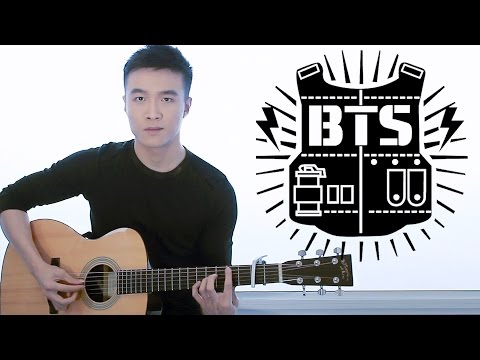 BTS - Blood Sweat & Tears guitar cover (instrumental)
