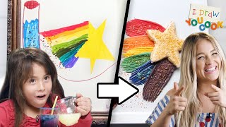 Can These Chefs Turn This Fairy Drawing Into A Dessert? •Tasty