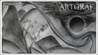 Drawing w/ Artgraf #11 - Black carbon & graphite - Dono