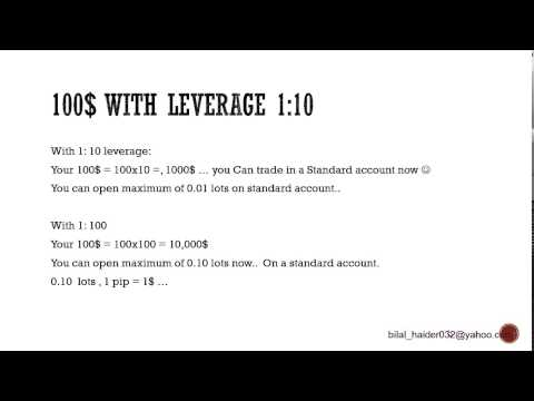 Forex For Beginners Part 6 – Leverage (how can i start trading with 100$)