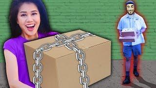 EX PROJECT ZORGO MEMBER HACKS SAFE HOUSE & MYSTERY BOX (Exploring Top Secret Announcement Jan 12th)