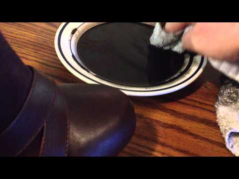 how to dye synthetic leather