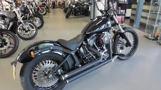 9. 2011 Harley Davidson Softail Blackline custom