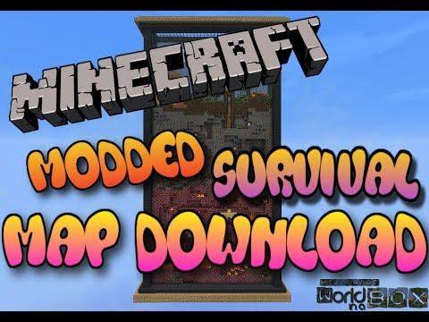 Minecraft Maps: Xbox 360/One/PS3/PS4/Wii U/PE/PC - Modded ...