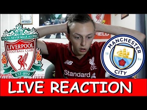 LIVE REACTION!! LIVERPOOL MAN CITY TITLE DECIDER!