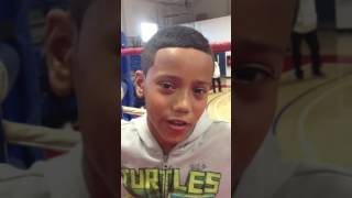 Interview of Amateur Boxer, Chisholm on his Up Coming Bout at the Willie Pep Invitational