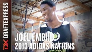 Joel Embiid - 2013 adidas Nations - Interview