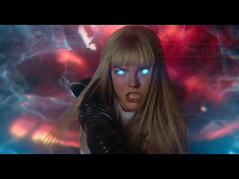 Magik- All Powers from New Mutants