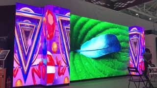 P2.5 Indoor HD LED Video Display For Advertising and Events youtube video