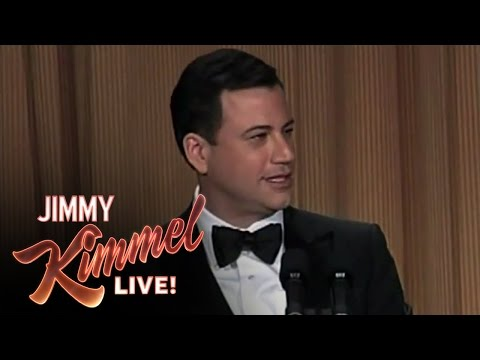 Jimmy Kimmel Hosts the 2012 White House Correspondents' Dinner