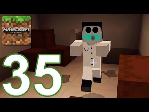 Minecraft: PE - Gameplay Walkthrough Part 35 - Hospital 2 (iOS, Android)