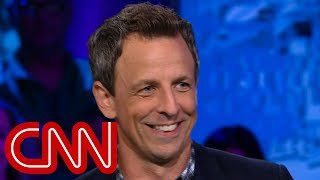 Video Seth Meyers explains why he's tough on Trump MP3, 3GP, MP4, WEBM, AVI, FLV Oktober 2018