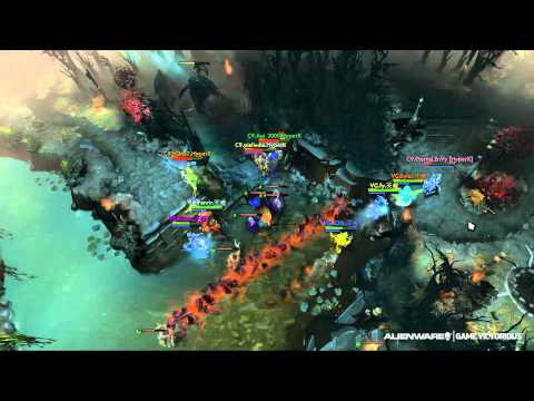 Highlight - Lvl 1 Roshan Clash - C9 vs Vici @ TI4