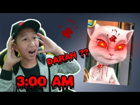 MAIN TALKING ANGELA JAM 3 PAGI BERBAHAYA ?!!