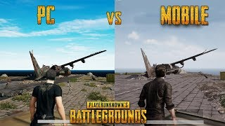 Download Lagu Player Unknown's Battlegrounds PC vs MOBILE - GAMEPLAY (PUBG) Mp3