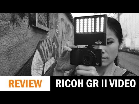 Ricoh GR II Video Test