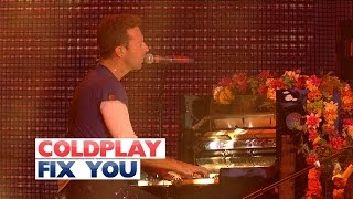 Coldplay - 'Fix You' (Live At The Jingle Bell Ball 2015) Video