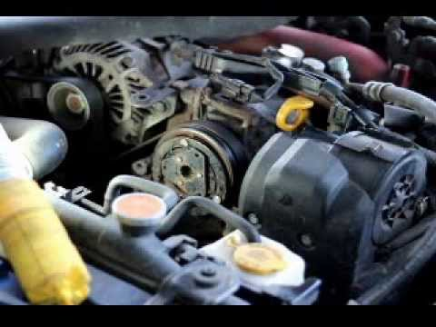 DIY Repair AC compressor clutch on Subaru Impreza and Forester 08-10