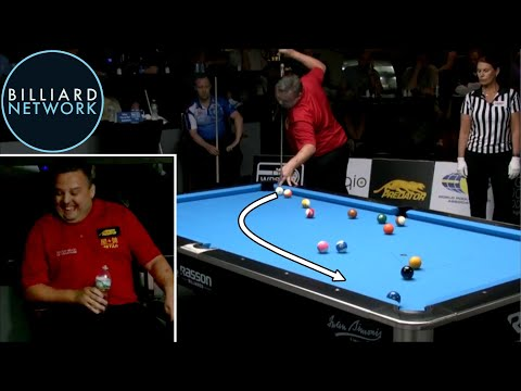 This guys run out in pool is one of the coolest things I've seen in a while.