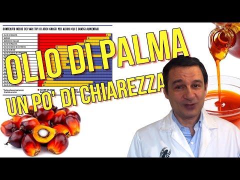 olio di palma: facciamo un po' di chiarezza