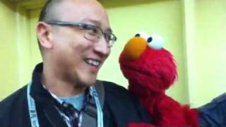 Elmo Says Hi To Malaysia At Full Frame Documentary Film Festival In Durham, NC