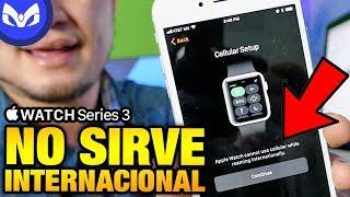 Apple Watch Series 3 No Sirve