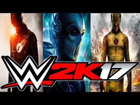 WWE 2K17 Flash Vs Zoom Vs Reverse Flash
