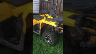 6. 2012 can am outlander 800r